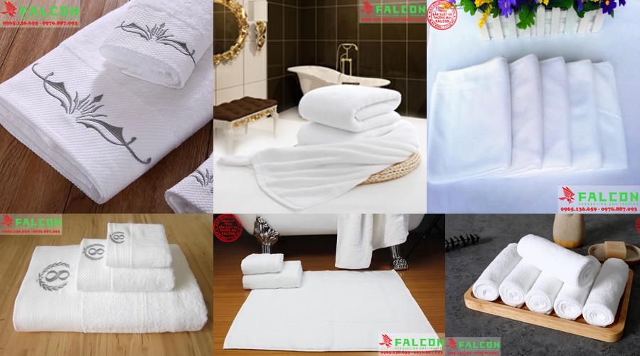 Cung cấp khăn tắm, khăn mặt, nội thất vải khách sạn