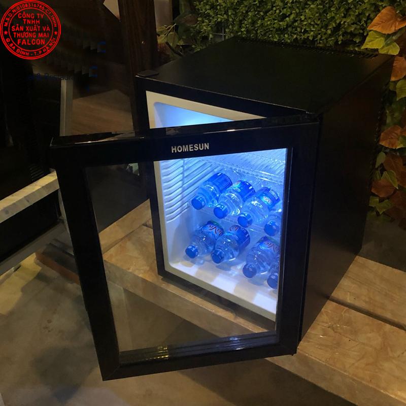 Tủ lạnh mini khách sạn cánh gương