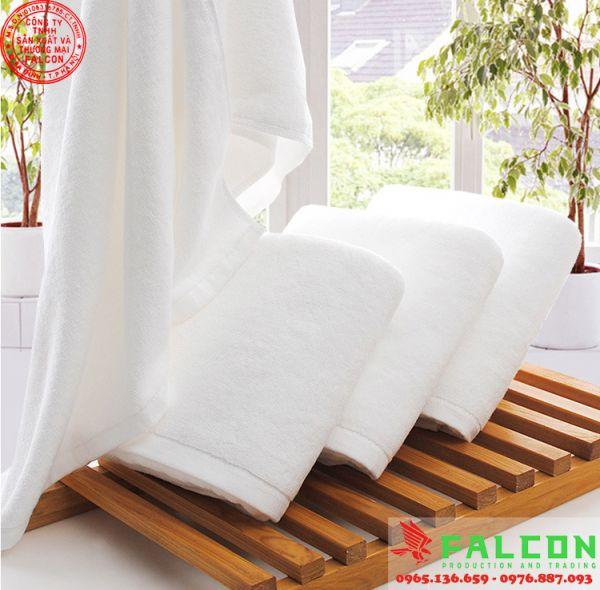 khăn tắm, khăn mặt khách sạn resort, spa, bệnh viện cao cấp