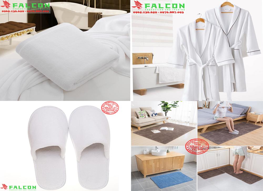 Combo bộ đồ dùng Amenities nội thất vải khách sạn