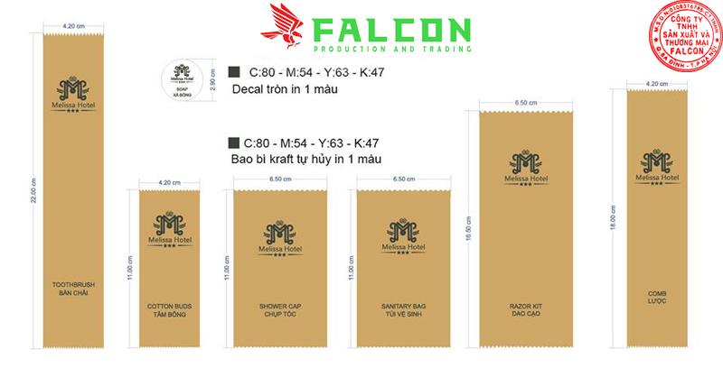 Bao bì giấy Karaft thiết kế in ấn logo thương hiệu