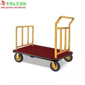 xe kéo đẩy hành lý dùng trong phòng khách sạn